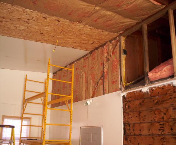 Garage for 10x10 insulated garage door