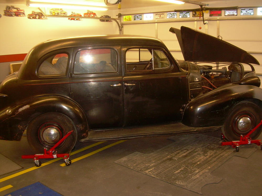 39 Chevy 4 Door Sedan